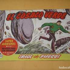 Tebeos: EL COSACO VERDE Nº 133, ORIGINAL, ED. BRUGUERA, ERCOM. Lote 132348122