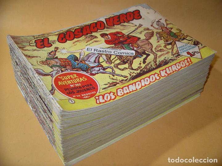 EL COSACO VERDE, COLECCION COMPLETA, DEL Nº 1 AL 144, ORIGINAL, ED. BRUGUERA, EXCELENTE, 7A (Tebeos y Comics - Bruguera - Cosaco Verde)