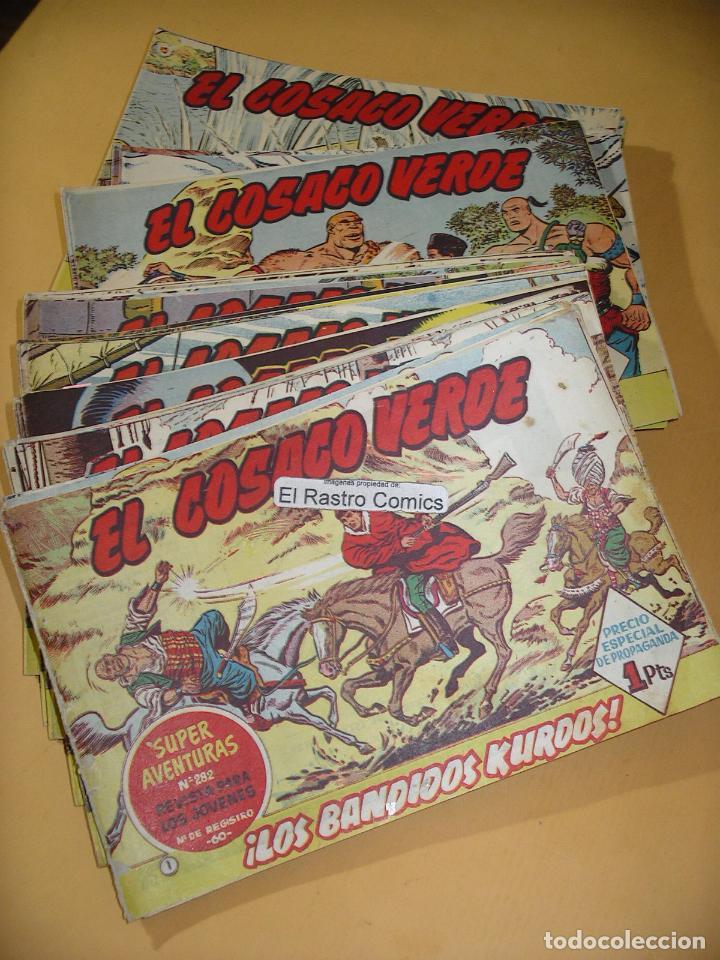 Tebeos: El Cosaco verde, coleccion completa, del nº 1 al 144, original, ed. Bruguera, excelente, 7A - Foto 3 - 132348942