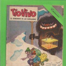 Tebeos: TIO VIVO - Nº 89 - SEMANARIO DE LAS CARCAJADAS - BRUGUERA. (1962).. Lote 132367658