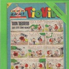 Tebeos: TIO VIVO - Nº 200 - DON PEDRITO QUE ESTÁ COMO NUNCA - BRUGUERA. (1965).. Lote 132377338