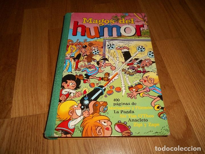 MAGOS DEL HUMOR Nº XIV ( 14 ). MORTADELO LA PANDA, SIR TIM O'THEO ANACLETO. 1º EDICION 1973 BRUGUERA (Tebeos y Comics - Bruguera - Otros)