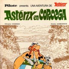 Tebeos: ASTERIX EN CORCEGA. PILOTE. DIBUJOS: UDERZO. GUION: GOSCINNY. Nº 37. BRUGUERA, 1973. Lote 132385033