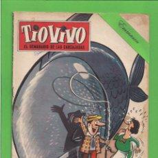 Tebeos: TIO VIVO - Nº 165 - SEMANARIO DE LAS CARCAJADAS - CRISOL/BRUGUERA. (1960).. Lote 132385090