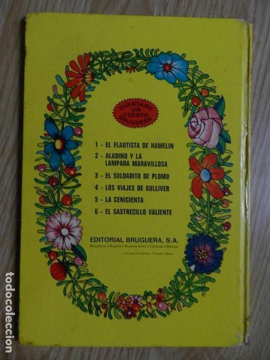 Tebeos: La cenicienta Cuentame un cuento 5 BRUGUERA año 1974 JAN zapatillas rojas príncipe feliz Pulgarcito - Foto 2 - 132458338