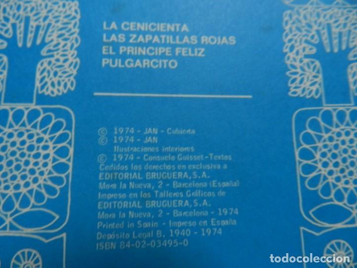 Tebeos: La cenicienta Cuentame un cuento 5 BRUGUERA año 1974 JAN zapatillas rojas príncipe feliz Pulgarcito - Foto 10 - 132458338