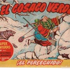 Tebeos: COSACO VERDE, EL Nº-54 EL PERSEGUIDO. EDITORIAL BRUGUERA. 1961. Lote 132494058