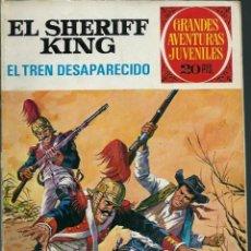 Tebeos: GRANDES AVENTURAS JUVENILES Nº 6 - EL SHERIFF KING - EL TREN DESAPARECIDO - BRUGUERA 1975 2ª ED.. Lote 132510614