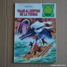 Tebeos: VIAJE AL CENTRO DE LA TIERRA . JULIO VERNE. JOYAS LITERARIAS Nº 21. LITERACOMIC. C1.. Lote 132573934