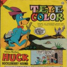 Tebeos: TEBEO - COMIC - TELE COLOR NUM. 36. Lote 132655954