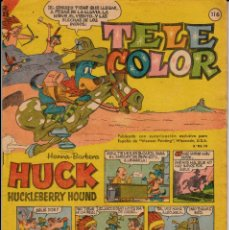 Tebeos: TEBEO - COMIC - TELE COLOR NUM. 116. Lote 132656702