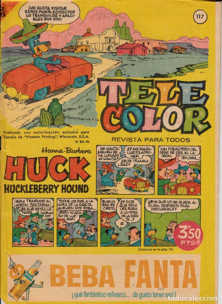 TEBEO - COMIC - TELE COLOR NUM. 117 (Tebeos y Comics - Bruguera - Tele Color)