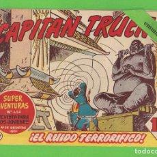 Tebeos: EL CAPITÁN TRUENO - Nº 297 - ¡EL RUIDO TERRORIFICO! - BRUGUERA - (1962).. Lote 132717946