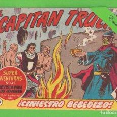 Tebeos: EL CAPITÁN TRUENO - Nº 312 - ¡SINIESTRO BEBEDIZO! - BRUGUERA - (1962).. Lote 132734374
