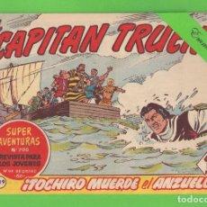 Tebeos: EL CAPITÁN TRUENO - Nº 329 - ¡TOCHIRO MUERDE EL ANZUELO! - BRUGUERA - (1963).. Lote 132735466
