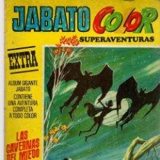 Tebeos: JABATO COLOR SUPERAVENTURAS. EXTRA. Nº 21. SEGUNDA ÉPOCA. LAS CAVERNAS DEL MIEDO. (P/C34). Lote 132778674