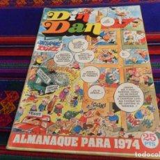 Tebeos: DIN DAN ALMANAQUE 1974. BRUGUERA 25 PTS. BUEN ESTADO.. Lote 132796894