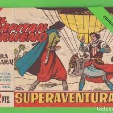 Tebeos: EL CAPITÁN TRUENO - Nº 465 - ¡CARA A CARA! - BRUGUERA - (1965).. Lote 132805114