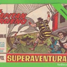 Tebeos: EL CAPITÁN TRUENO - Nº 468 - ¡LA CAPTURA! - BRUGUERA - (1965).. Lote 132805286