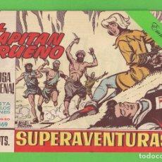 Tebeos: EL CAPITÁN TRUENO - Nº 469 - ¡LA FOSA DE ARENA! - BRUGUERA - (1965).. Lote 132805394