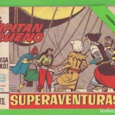 Tebeos: EL CAPITÁN TRUENO - Nº 472 - ¡LA SORPRESA DE KROLO! - BRUGUERA - (1965).. Lote 132805686