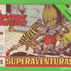 Tebeos: EL CAPITÁN TRUENO - Nº 478 - ¡EL MAR DE LAVA! - BRUGUERA - (1965).. Lote 132806242