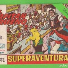 Tebeos: EL CAPITÁN TRUENO - Nº 479 - ¡EL ÉXODO! - BRUGUERA - (1965).. Lote 132806314