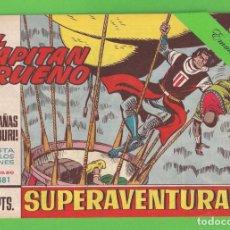 Tebeos: EL CAPITÁN TRUENO - Nº 481 - ¡LAS MONTAÑAS MAMBURI! - BRUGUERA - (1965).. Lote 132806522