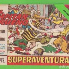 Tebeos: EL CAPITÁN TRUENO - Nº 487 - ¡LA PINTURA DE GOLIATH! - BRUGUERA - (1966).. Lote 132806954