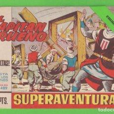 Tebeos: EL CAPITÁN TRUENO - Nº 489 - ¡LAS CATAPULTAS! - BRUGUERA - (1966).. Lote 132807162