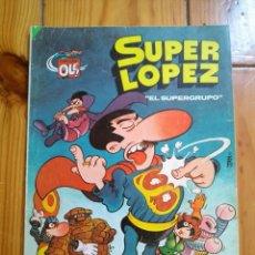 Tebeos: SUPER LÓPEZ # 2 - EL SUPERGRUPO - 3ª EDICIÓN 1983 - D3. Lote 132821194