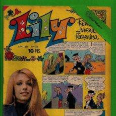 Tebeos: LILY Nº 668 - REVISTA JUVENIL FEMENINA - BRUGUERA - (1974). CON EL PÓSTER. PUBLICIDAD DE MIRINDA.. Lote 132831726