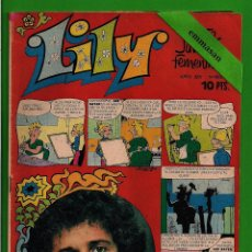 Tebeos: LILY Nº 682 - REVISTA JUVENIL FEMENINA - BRUGUERA - (1974). CON EL PÓSTER. PUBLICIDAD NANCY INTERIOR. Lote 132833222