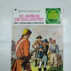 Tebeos: EL SEÑOR DE BALANTRY. ROBERT L. STEVENSON. JOYAS LITERARIAS JUVENILES Nº 20. BRUGUERA. TDKC2. Lote 132863302