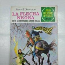 Tebeos: LA FLECHA NEGRA. ROBERT L. STEVENSON. JOYAS LITERARIAS JUVENILES Nº 48. BRUGUERA. TDKC2. Lote 132863598