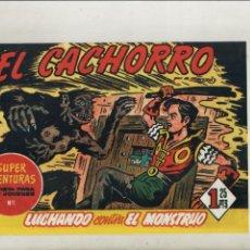 Tebeos: EL CACHORRO-BRUGUERA-AÑO 1983-APAISADO-REEDICION-B/N-3º DISEÑO-FORMATO GRAPA-Nº 158-LUCHANDO CONTRA.. Lote 217878683