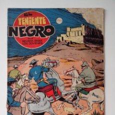 Tebeos: EL TENIENTE NEGRO Nº 19 AÑO 1962 ED.BRUGUERA MORTAL AMENAZA.. Lote 132937094