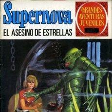 Tebeos: SUPERNOVA -Nº 5 - EL ASESINO DE ESTRELLAS -1975-GRANDES AVENTURAS JUVENILES- Nº 70-BUENO-LEAN-9657. Lote 140206982
