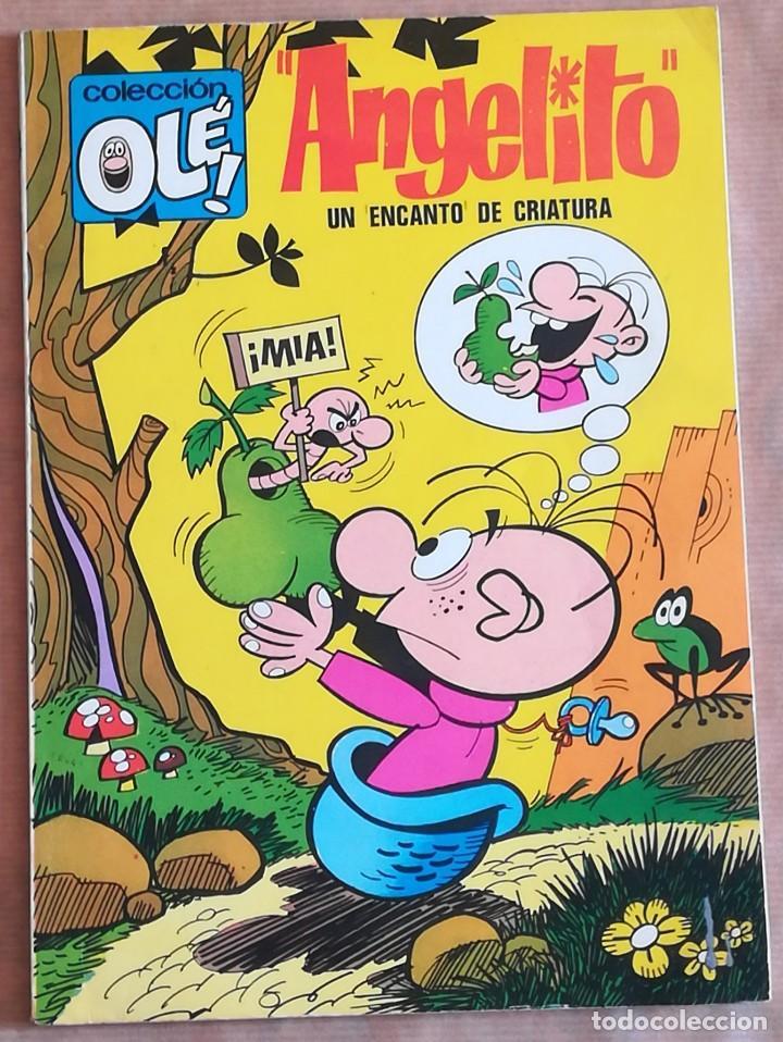OLÉ Nº 54 EN LOMO ANGELITO BRUGUERA PRIMERA 1ª ED. 80 PÁGINAS (Tebeos y Comics - Bruguera - Ole)