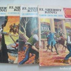 Tebeos: SHERIFF KING (5) SUPERNOVA (1) LOTE DE 6 EJEMPLARES. Lote 133066222