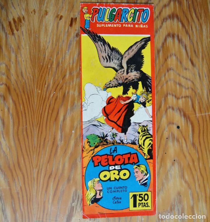 N. 1250 PULGARCITO SUPLEMENTO PARA NIÑAS * LA PELOTA DE ORO * CUENTO COMPLETO * SERIE CELIA N. 12 (Tebeos y Comics - Bruguera - Pulgarcito)