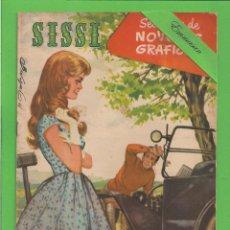 BDs: SISSI - Nº 111 - SELECCIÓN DE NOVELAS GRÁFICAS - MI PRIMO JACK - (1961) - AL DORSO GIG YOUNG.. Lote 133150570