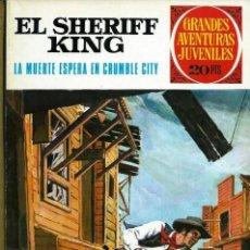 Tebeos: GRANDES AVENTURAS JUVENILES Nº 16 - SHERIFF KING - CRUMBLE CITY - BRUGUERA 1975 2ª ED. - IMPECABLE. Lote 133159674