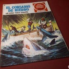 Tebeos: EL CORSARIO DE HIERRO 23 JOYAS LITERARIAS JUVENILES BRUGUERA. Lote 133188085