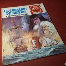 Tebeos: EL CORSARIO DE HIERRO 11 JOYAS LITERARIAS JUVENILES BRUGUERA. Lote 133188130