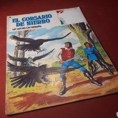 Tebeos: EL CORSARIO DE HIERRO 38 JOYAS LITERARIAS JUVENILES BRUGUERA. Lote 133188507
