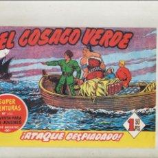Tebeos: EL COSACO VERDE-BRUGUERA-FACSIMIL-APAISADO-B/N-REEDICION-AÑO 1960-Nº 7-ATAQUE DESPIADADO. Lote 133212610