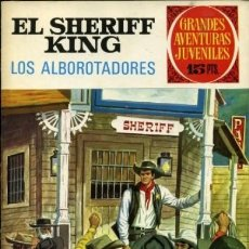 Tebeos: GRANDES AVENTURAS JUVENILES- Nº 36 - SHERIFF KING - GRAN VICENTE TORREGROSA-1972-BUENO-DIFÍCIL-9377. Lote 133251054
