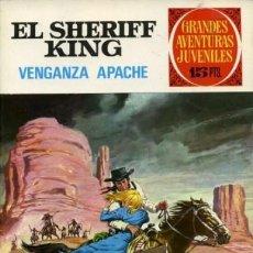 Tebeos: GRANDES AVENTURAS JUVENILES- Nº 12 - SHERIFF KING - GRAN FRANCISCO DÍAZ-1972-BUENO-DIFÍCIL-9381. Lote 133260042