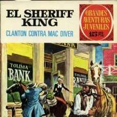 Tebeos: GRANDES AVENTURAS JUVENILES- Nº 14 - SHERIFF KING -GRAN FRANCISCO DÍAZ-1972-BUENO-DIFÍCIL-9382. Lote 133260282